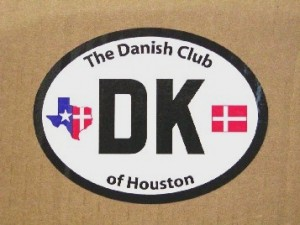 Danish club decal