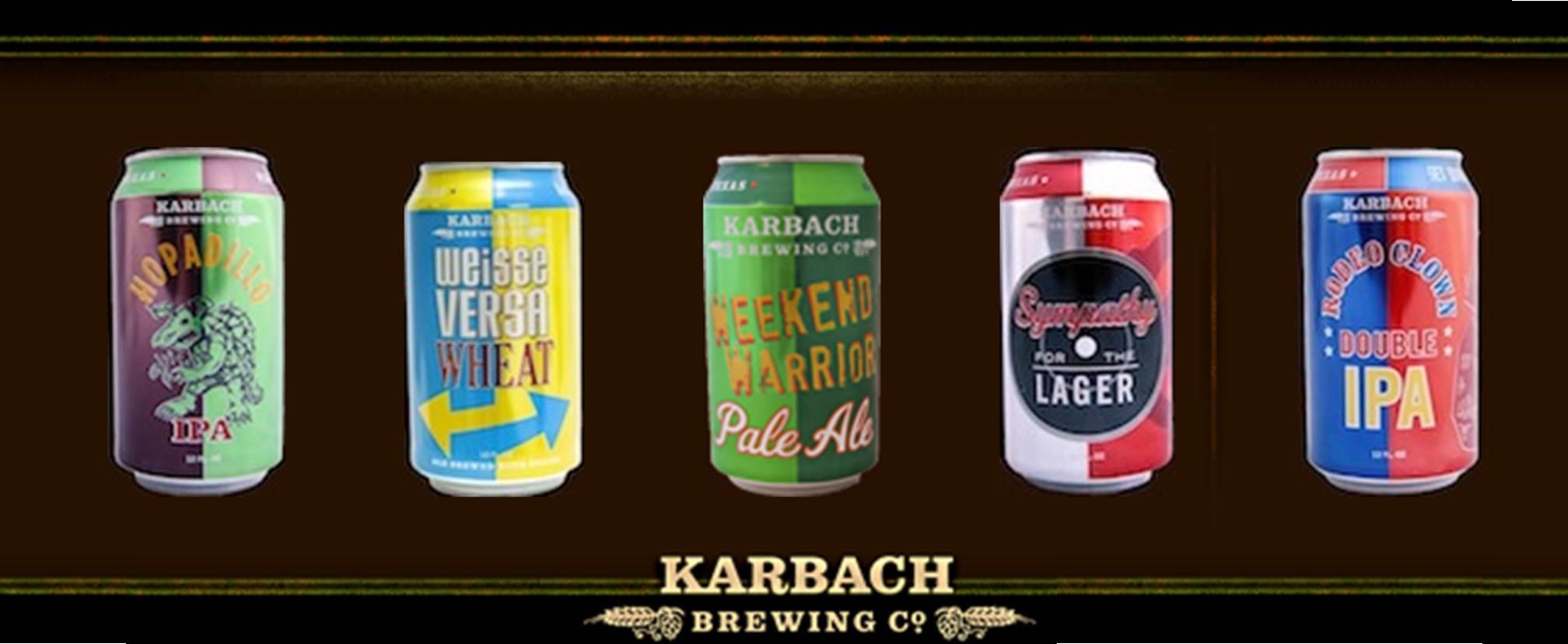Karbach Beers